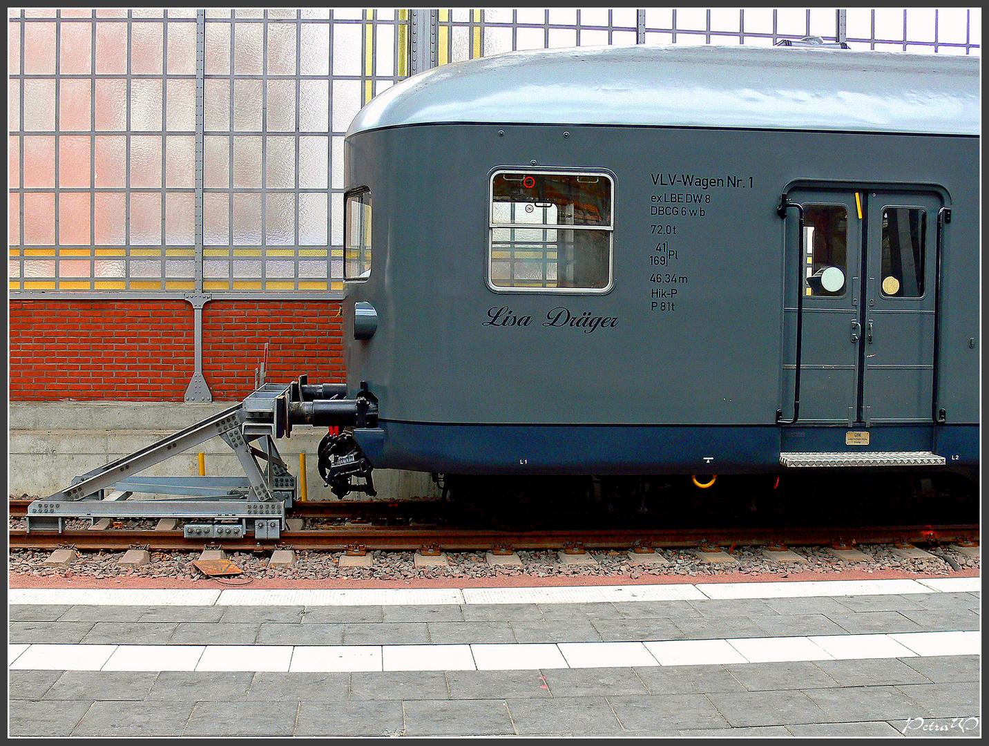 Lübeck Hbf - Historie - Lübeck-Büchener  Eisenbahn