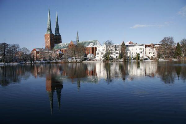 Lübeck im Winter