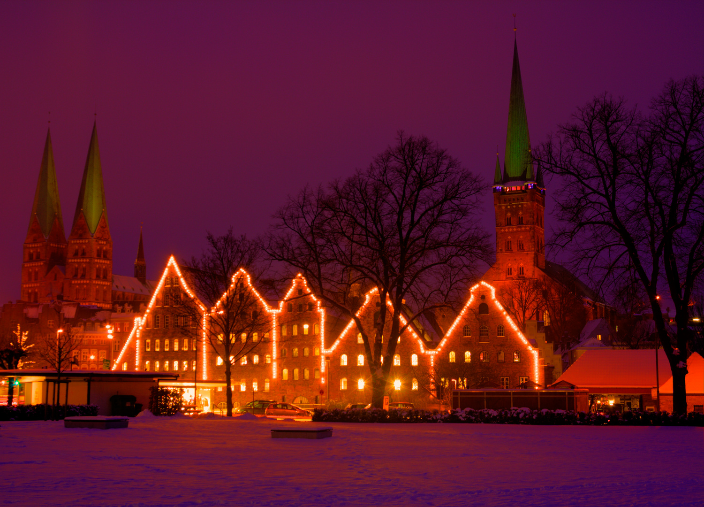 Lübeck Salzspeicher Winter 2010 - 2