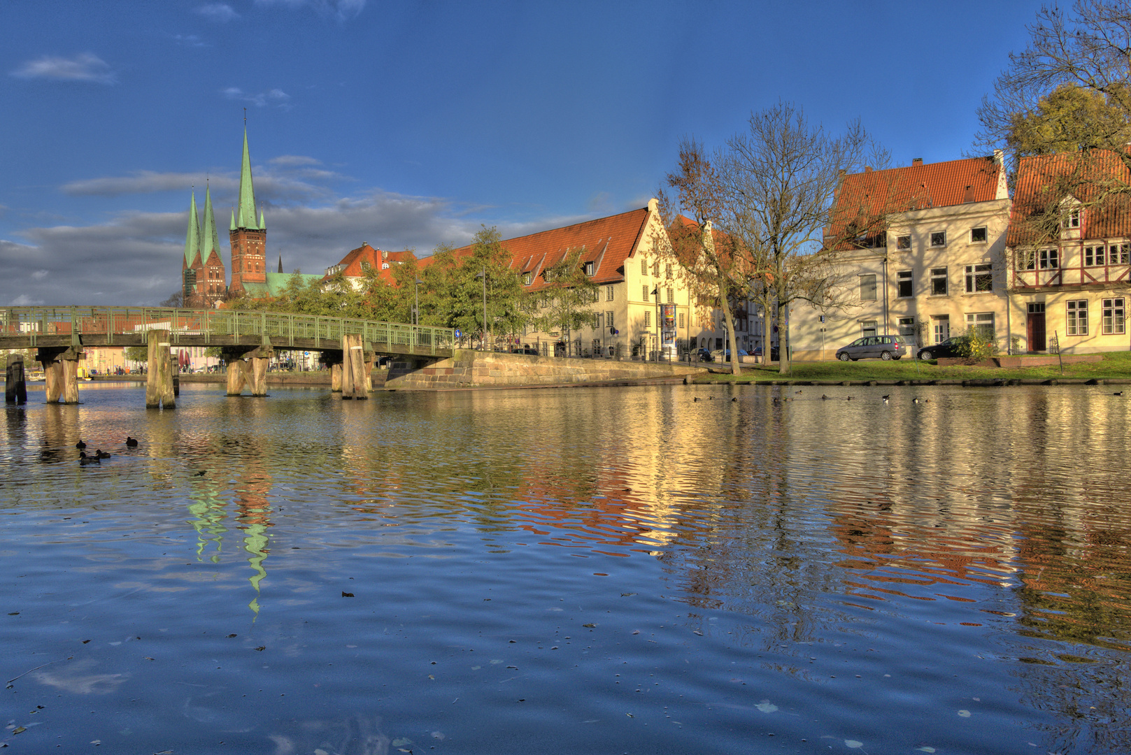 Lübeck_an der Obertrave