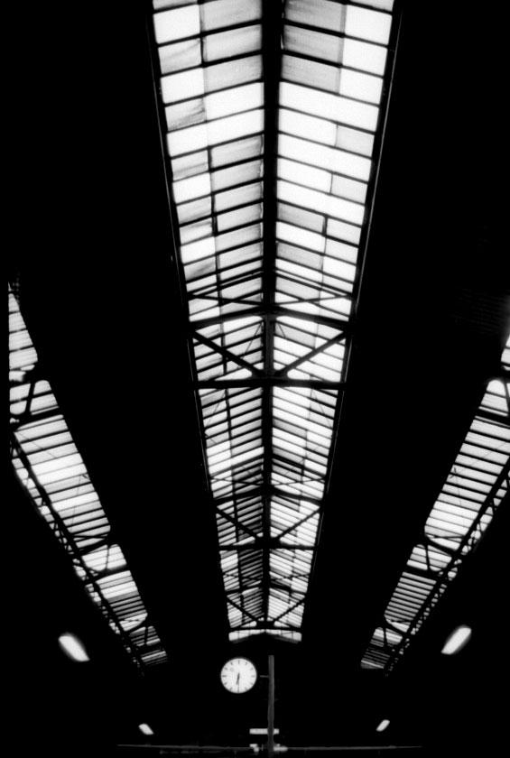 Lübecker Bahnhofsdach