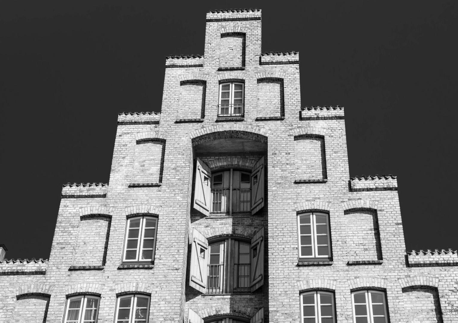 Lübecker Giebel-Haus