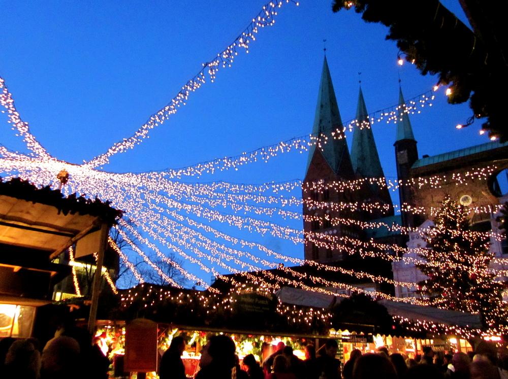 Lübeck`s Weihnachtsmarkt
