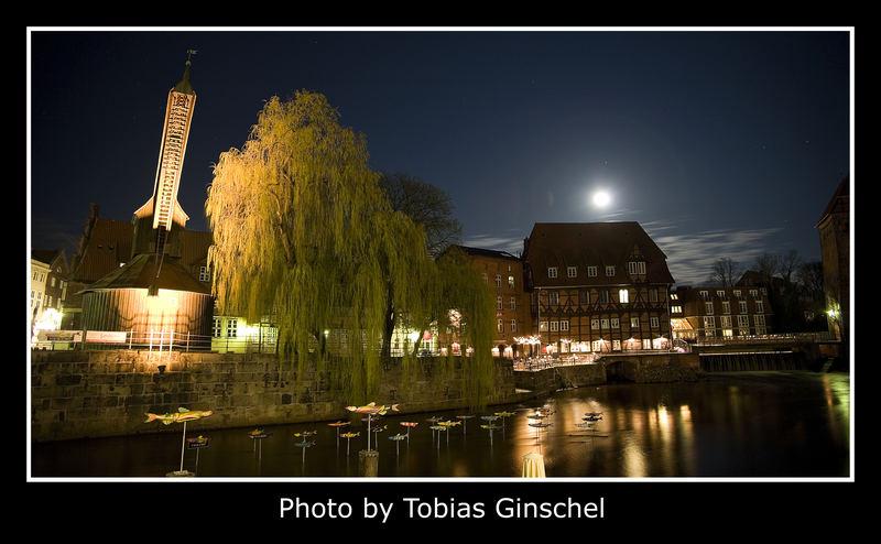 Lüneburg bei Nacht II