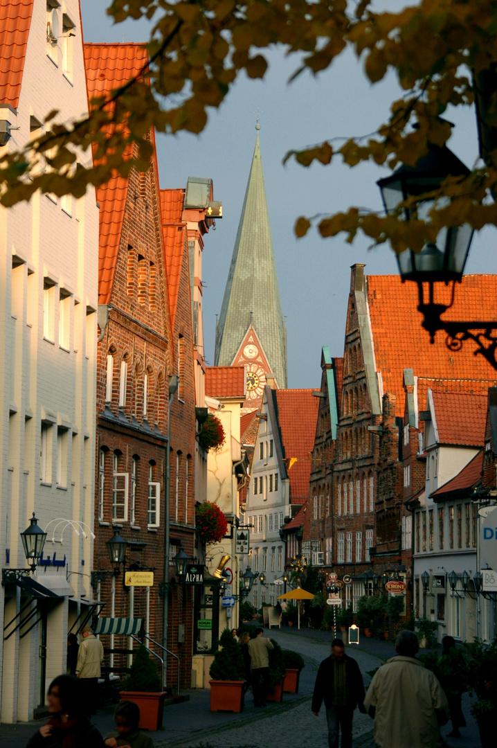 Lüneburg im Herbstlicht
