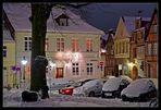 Lüneburg im Schnee - Johann-Sebastian-Bach-Platz /3.