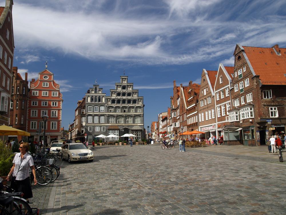 Lüneburg: Marktplatz