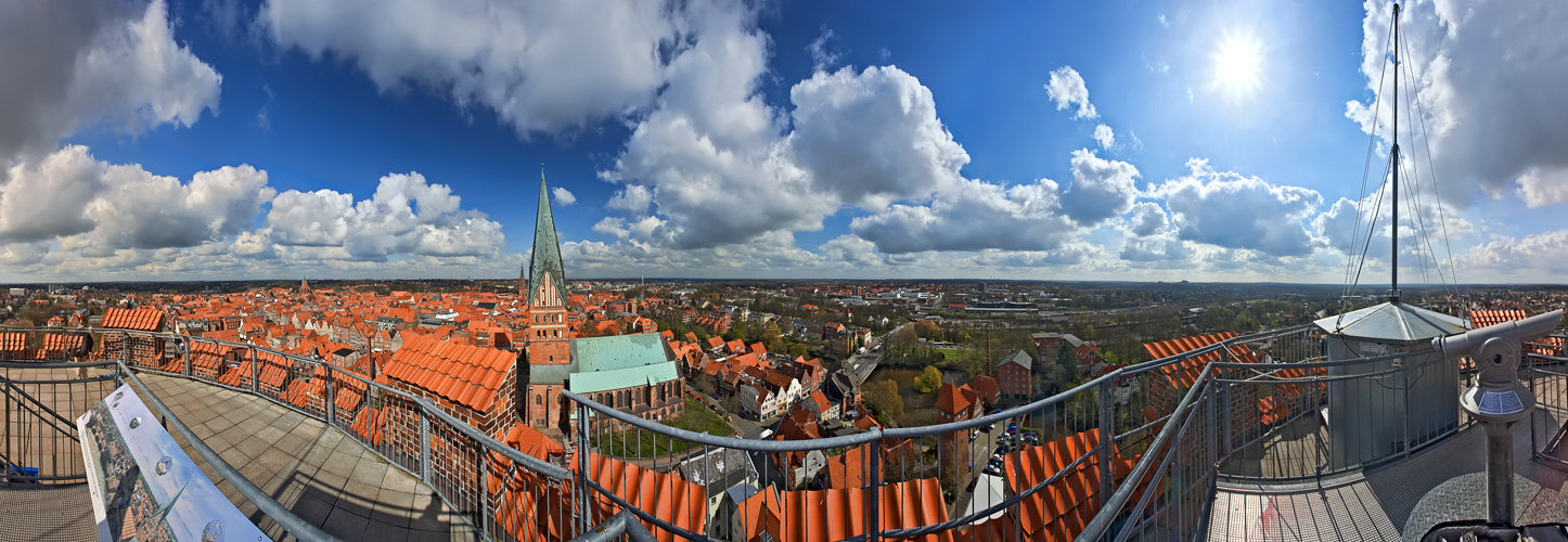 Lüneburg - Rundblick
