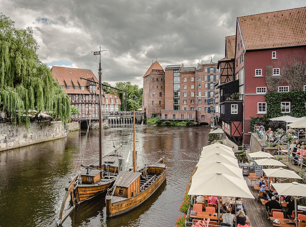 Lüneburg (vor dem Regen)