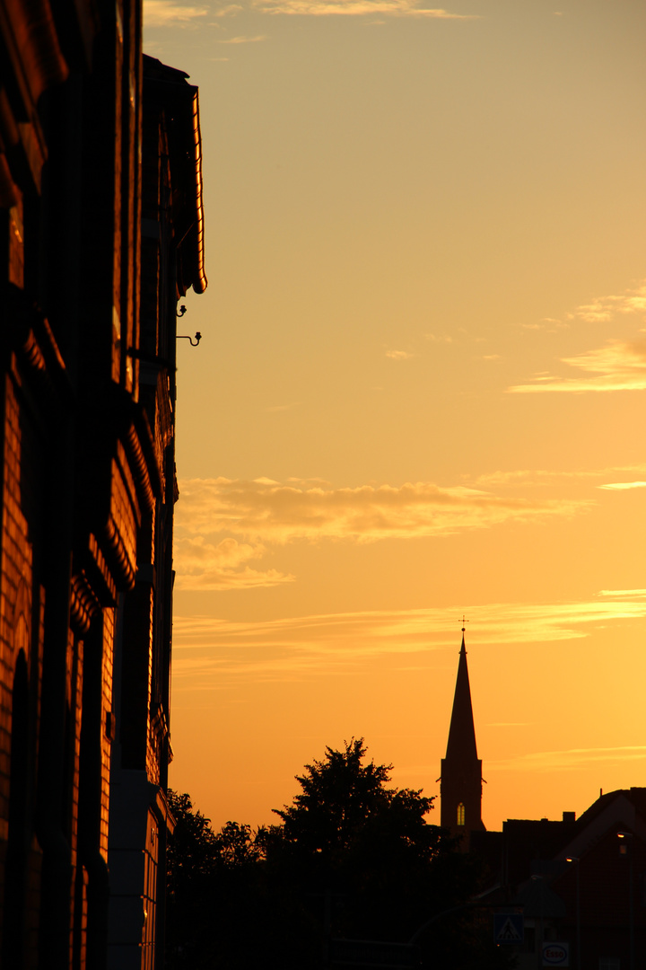 Lüneburger Abendsonne