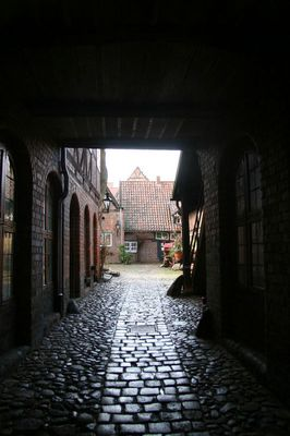 Lüneburger Hinterhof