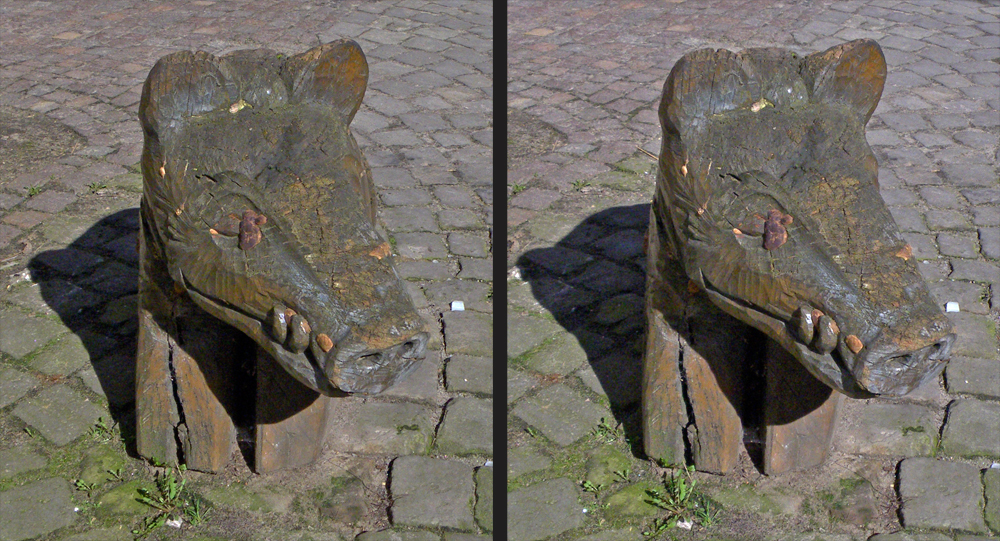 Lüneburger Salzsauskulptur