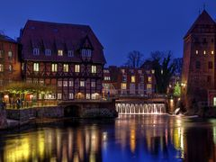 Lüner Mühle am Abend