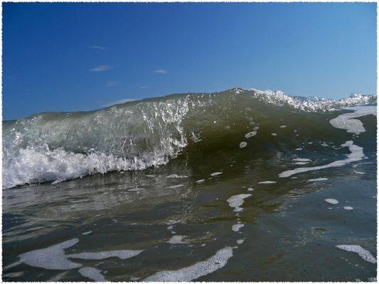 Luft anhalten - Die Welle