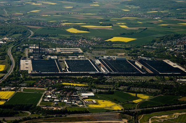 Luftaufnahme Baunatal (3) VW-Werk
