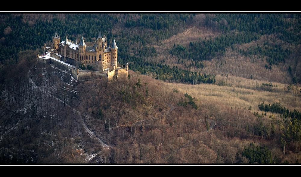 Luftaufnahme Burg Hohenzollern