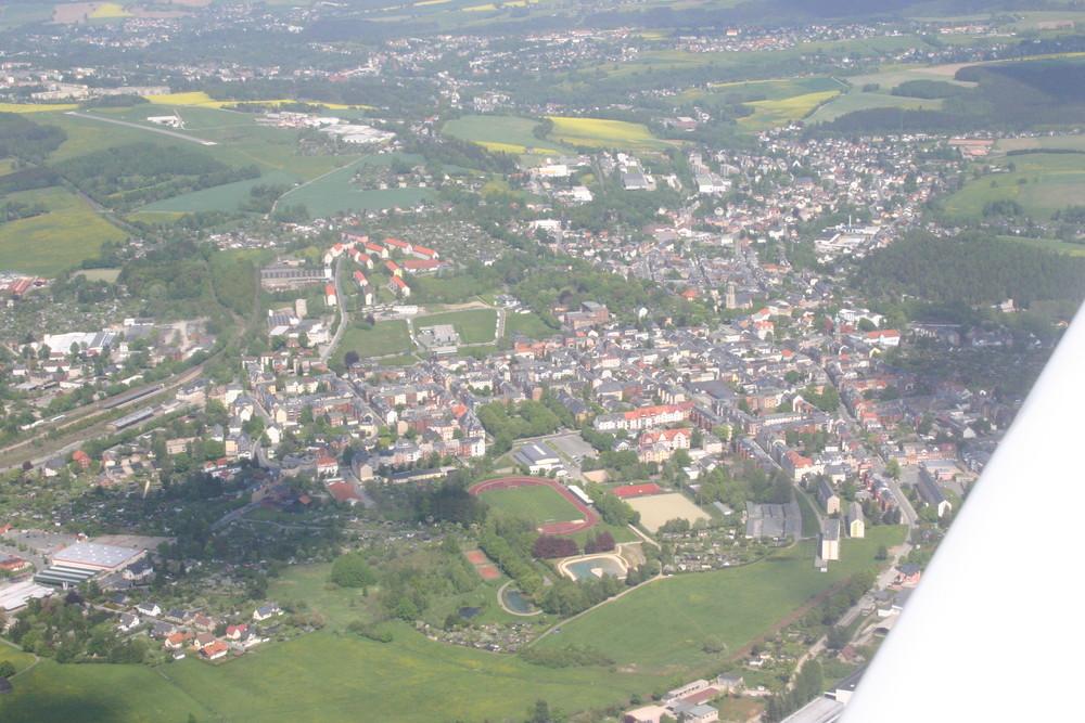 Luftaufnahme Falkenstein/Vogtland
