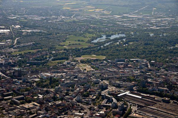 Luftaufnahme Kassel (1)