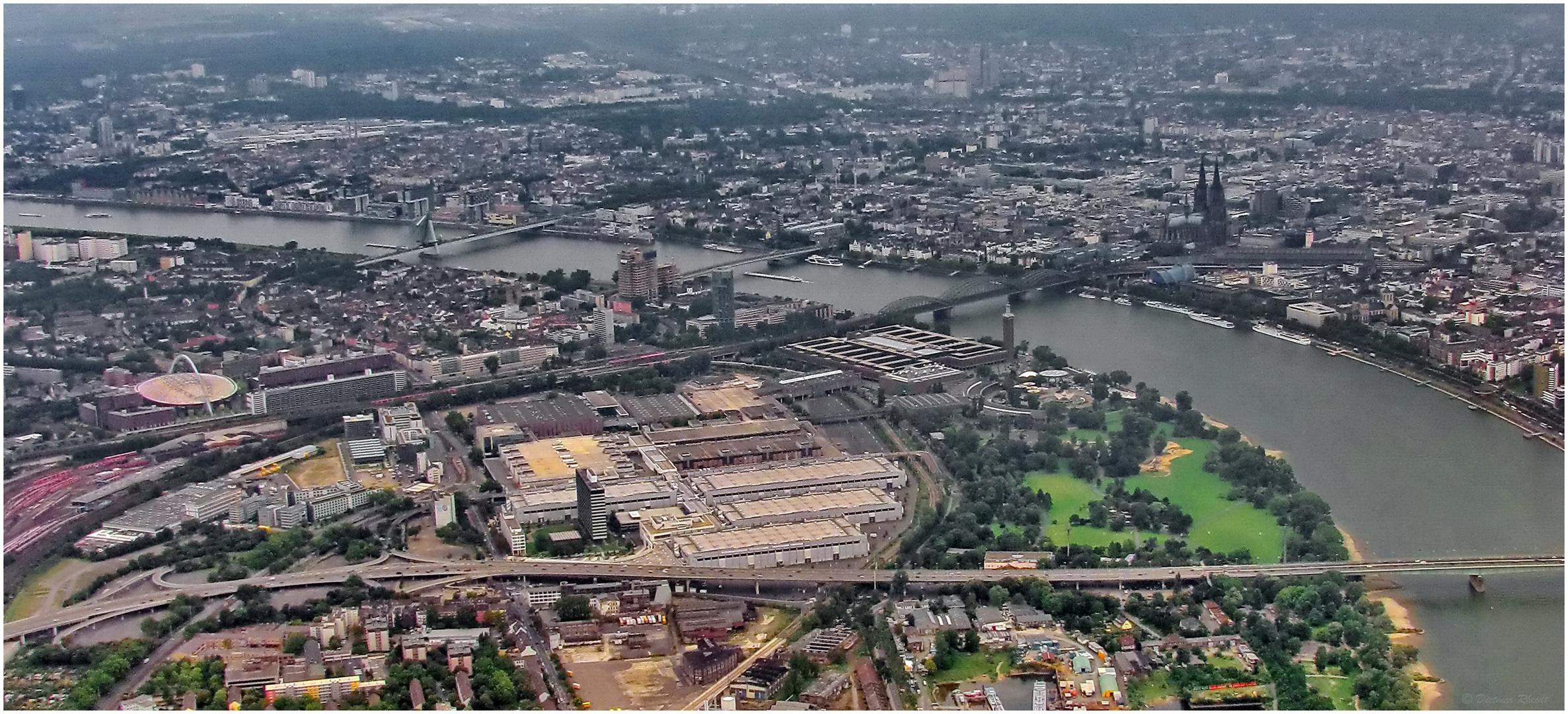 Luftaufnahme Köln