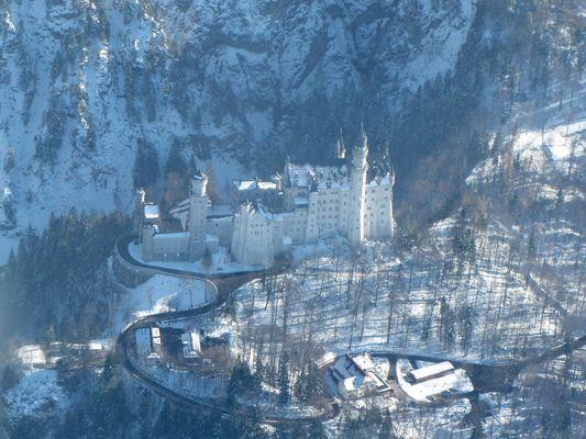 Luftaufnahme Neuschwanstein