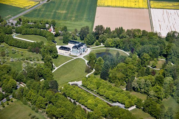 Luftaufnahme Schloss Wilhelmstal
