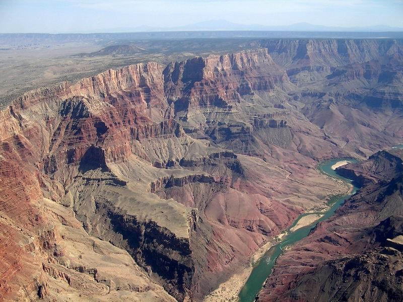 Luftaufnahme von Grand Canyon
