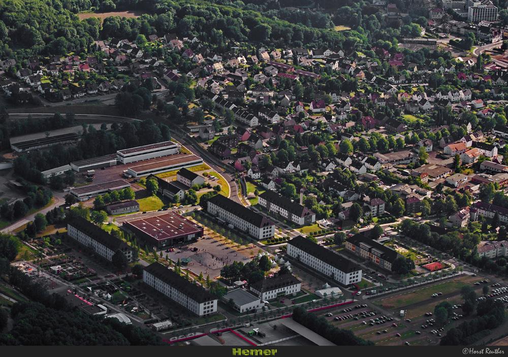 Luftaufnahme von Hemer