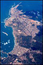 Luftbild von Alexandria