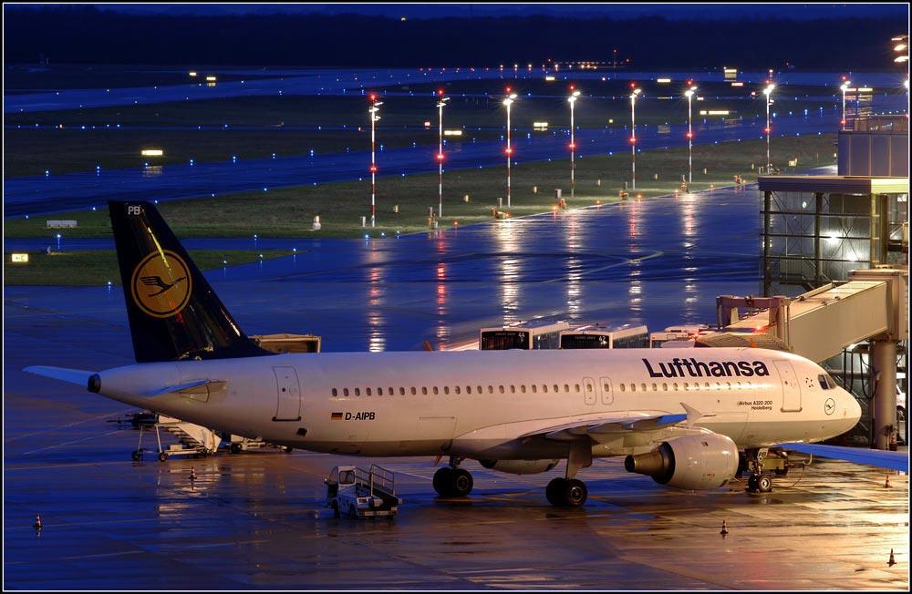 Lufthansa Airbus A320-200 Heidelberg