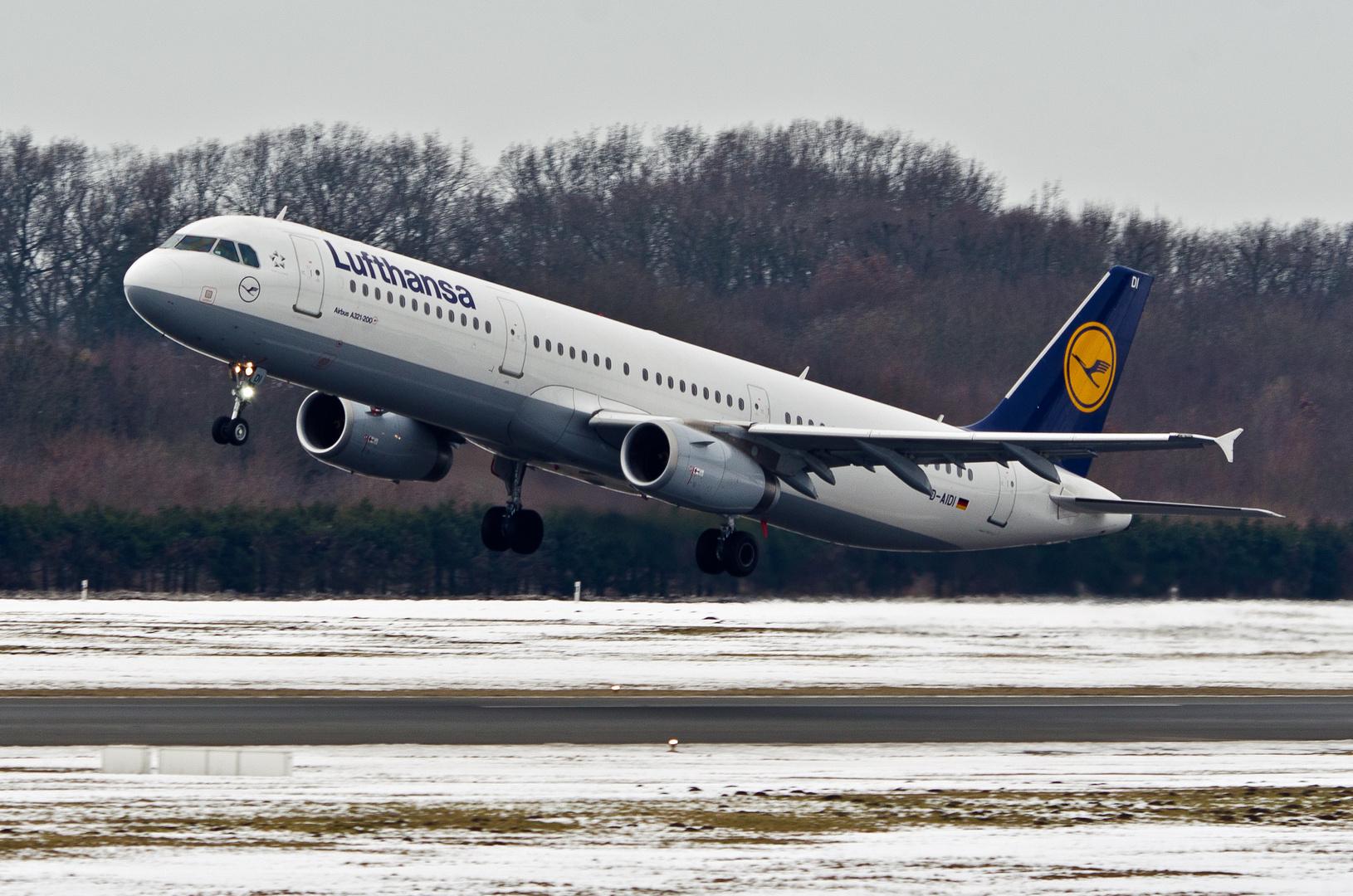 Lufthansa Airbus A321-231