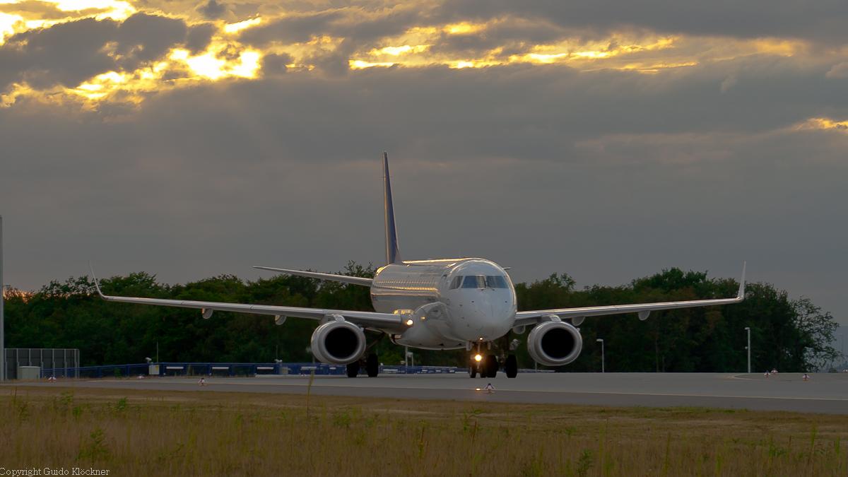 Lufthansa CityLine Embraer ERJ190 Frankfurt Airport