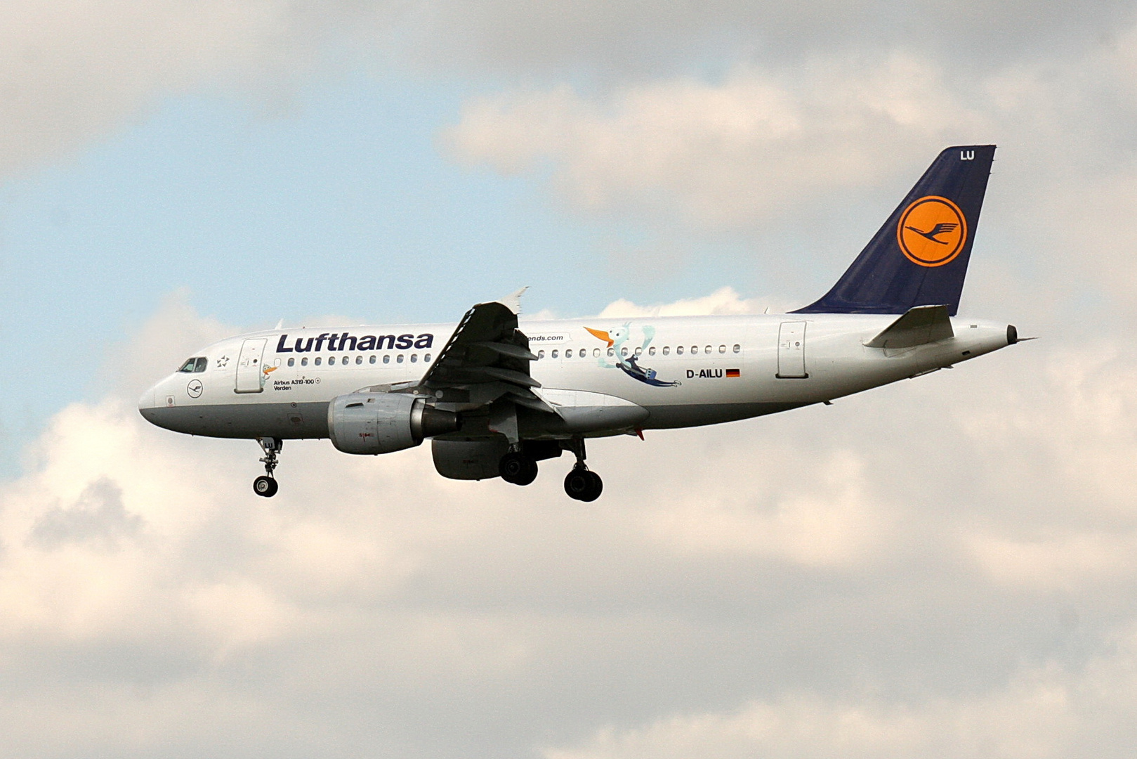Lufthansa D-AILU