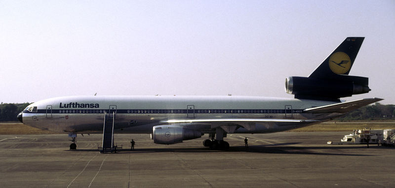 Lufthansa in Rangun