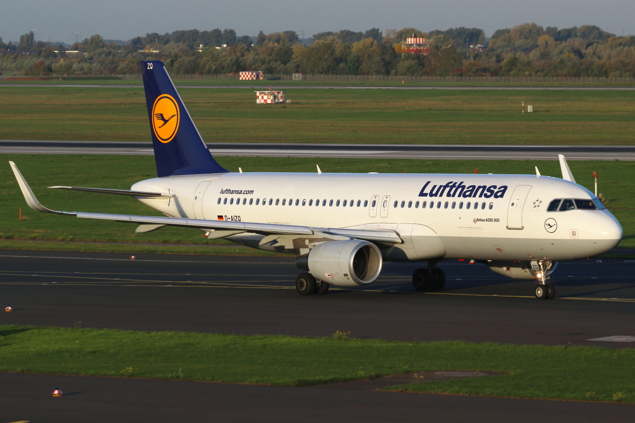 Lufthansa mit dem Hai