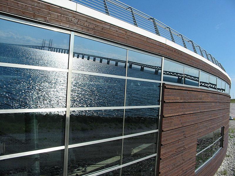 Luftkastellet am Öresund in Schweden