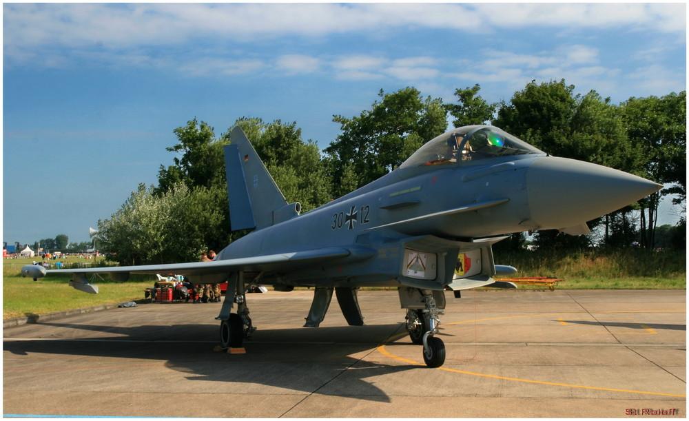 Luftwaffe Eurofighter   Open Dagen in Leeuwarden (Niederlande)