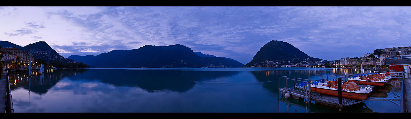 Lugano di mattina