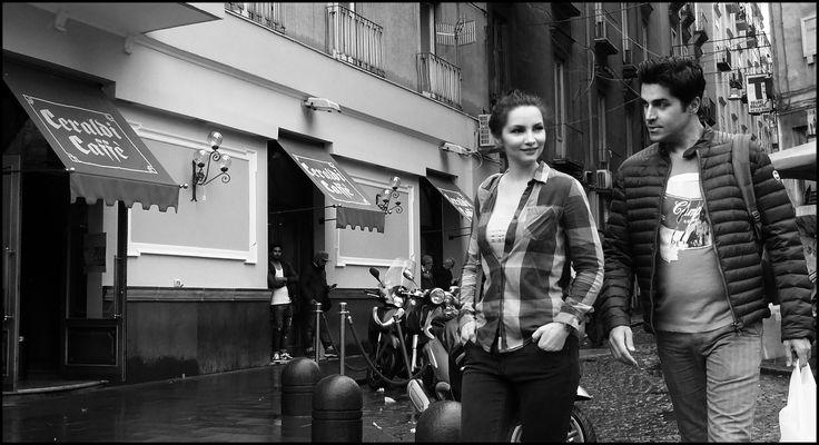 Lui e lei a Napoli