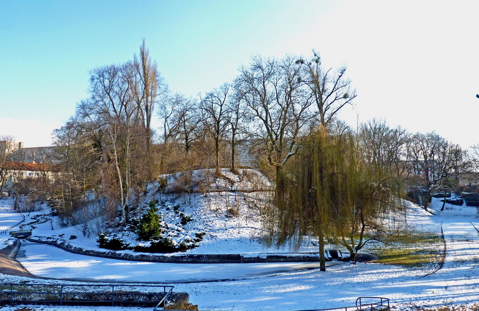 Luisenpark heute Nachmittag