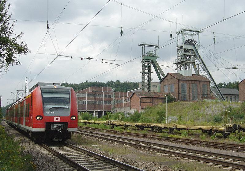 Luisenthal mit Bahn