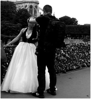 L'ultime retouche du photographe de mariage...