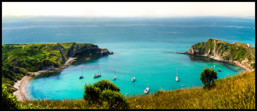 lulworth cove pan