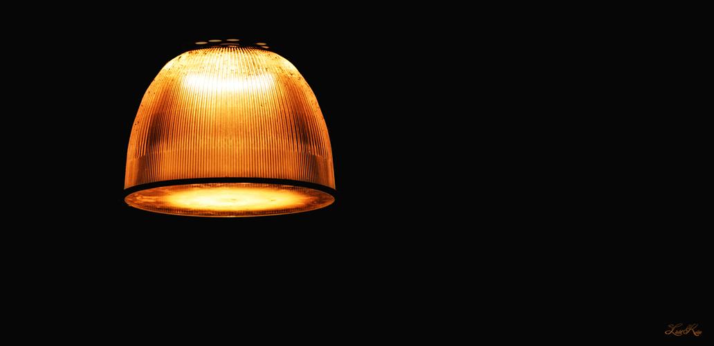 Lumière dans la gare
