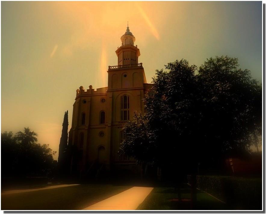 lumière divine ???? (église mormon  états-unis)