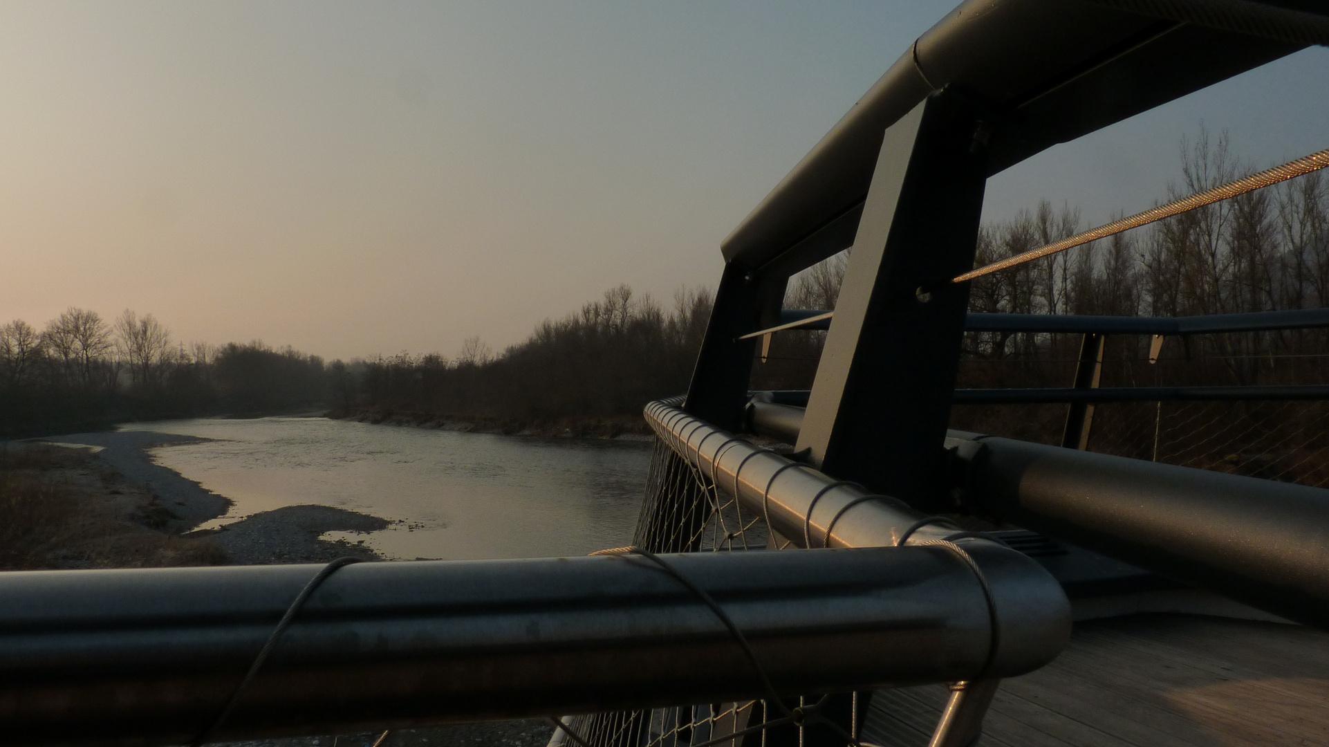 Lumiere d'un pont