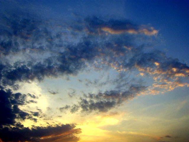 Lumière et nuages - '7'