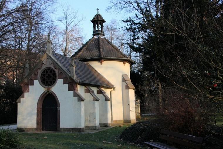 lumière sur la chapelle