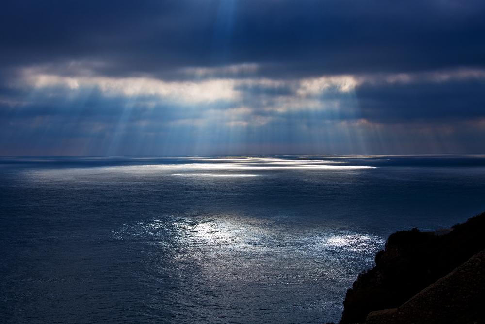 Lumière sur la mer