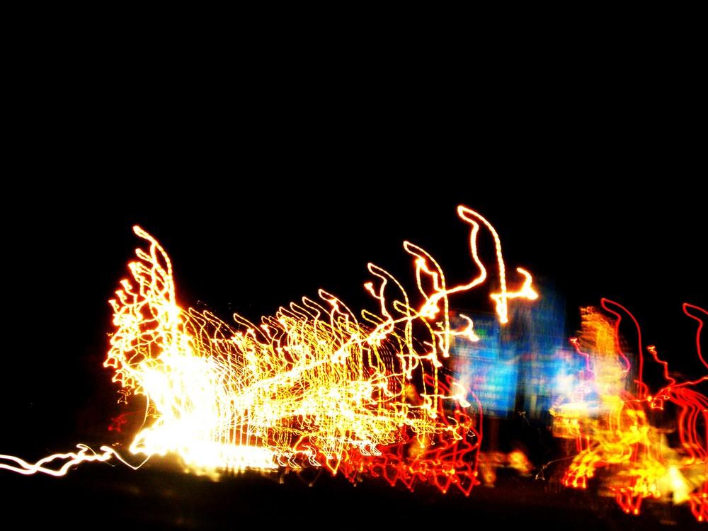 Lumières d'autoroute