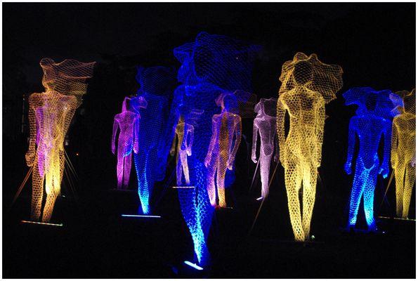 Lumières de Lyon au Parc de la Tête d'Or !